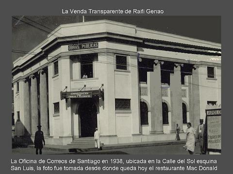 Oficina de correos de santiago en 1938 desdesantiago net for Oficinas de correos en santiago de compostela