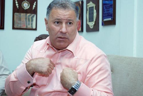 Alcalde de Santiago, doctor Gilberto Serulle