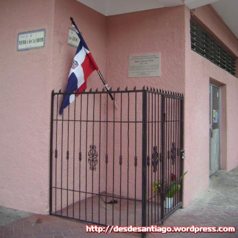 Casa donde vivió Mella