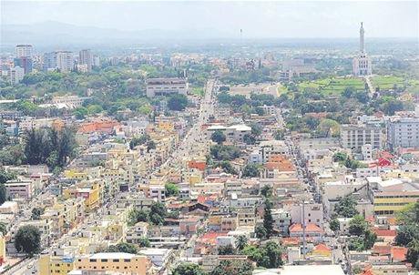 Resultado de imagen para centro de la ciudad de santiago de los caballeros