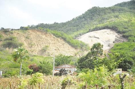 Zonas montañosas son depredadas. (Ricardo Flete)