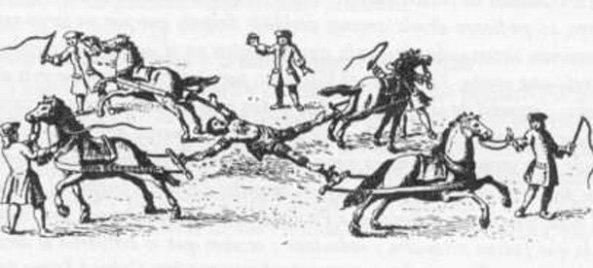 La ejecución de Túpac Amaru II