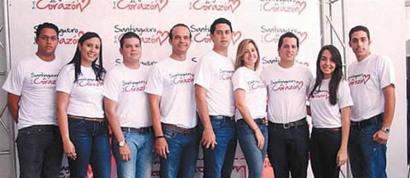 El equipo que originalmente fundó a Santiaguero de Corazon en esta ciudad de Santiago