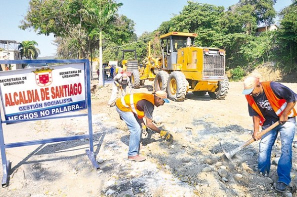 Alcaldía retoma trabajos de Parque Ecológico. (Ricardo Flete)