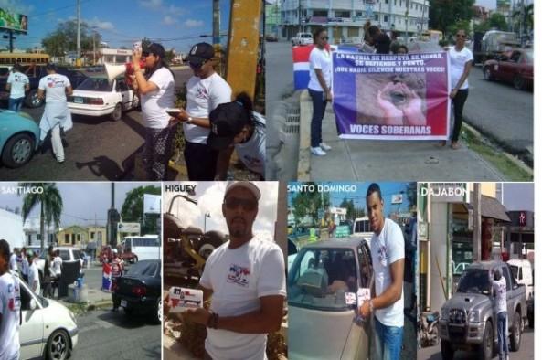 El operativo cubrió calles en varias ciudades, incluyendo Santo Domingo, Bávaro en Higüey, Santiago y Dajabón. (Fuente Externa)