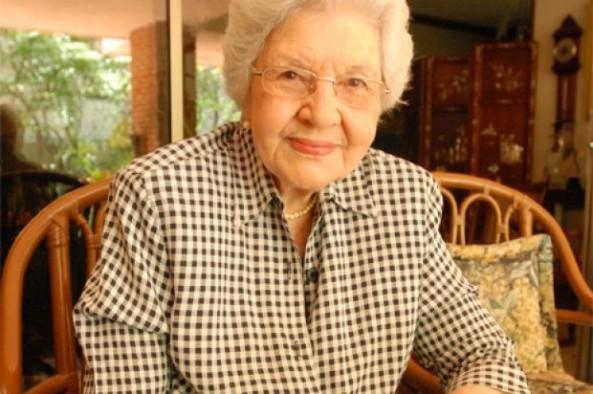 ex primera dama Reneé Klang viuda Guzmán