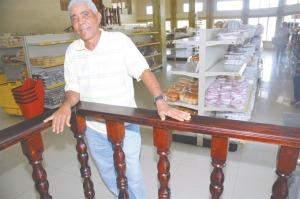 Don Turey, como es conocido Anazario López.