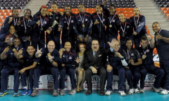 República Dominicana se lleva el oro en el voleibol panamericano sub-20