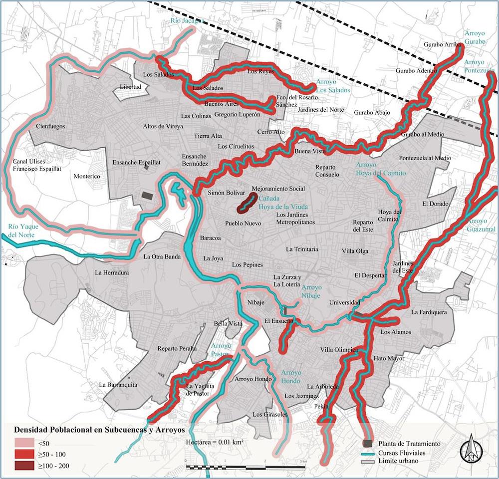 R o jacagua la primera frontera hidrogr fica desde santiago for Ciudad santiago villas