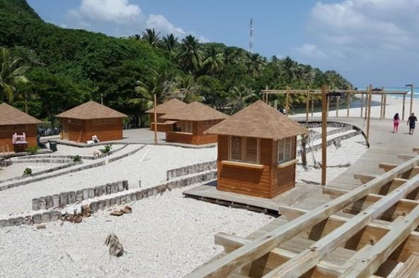 El nuevo aspecto del balneario Los Patos atrae a turistas nacionales e internacionales. Cortesía de Isaac Ramírez