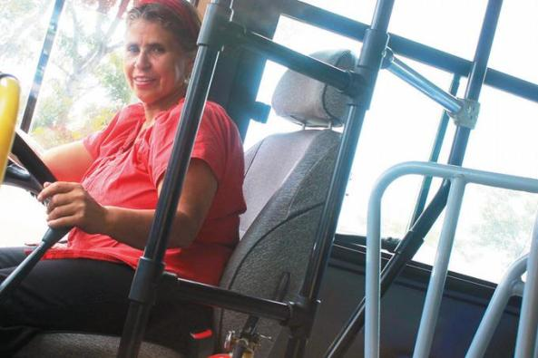 Juana Francisca siente pasión por el volante.