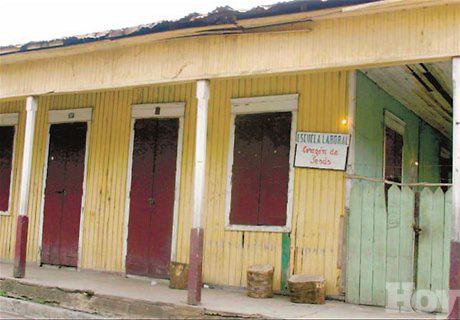 Foto: Fuente externa/Acento.com.do / Casa de Horacio Vásquez en Tamboril.