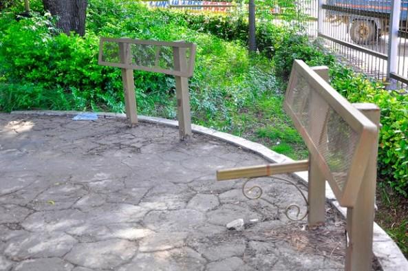 Parques municipales son desmantelados ante falta de vigilancia. - See more at: http://www.elcaribe.com.do/2016/06/04/desmantelan-varios-parques-santiago#sthash.E90KFl3m.dpuf